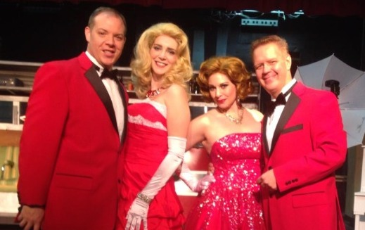 cast of irving berlins white christmas at footlite musicals - Cast Of White Christmas
